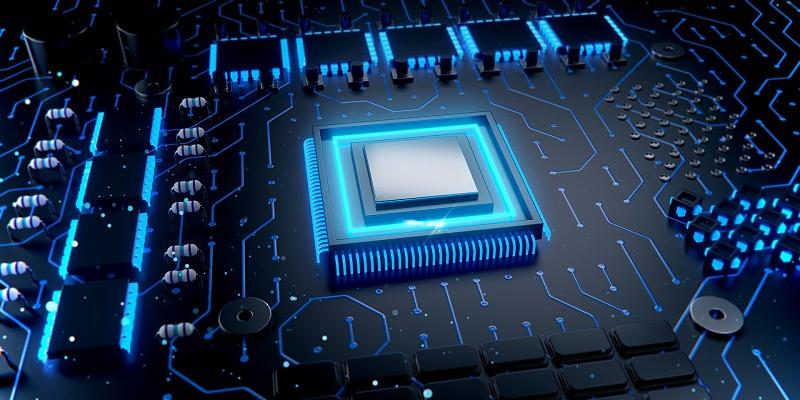 科技芯片场景