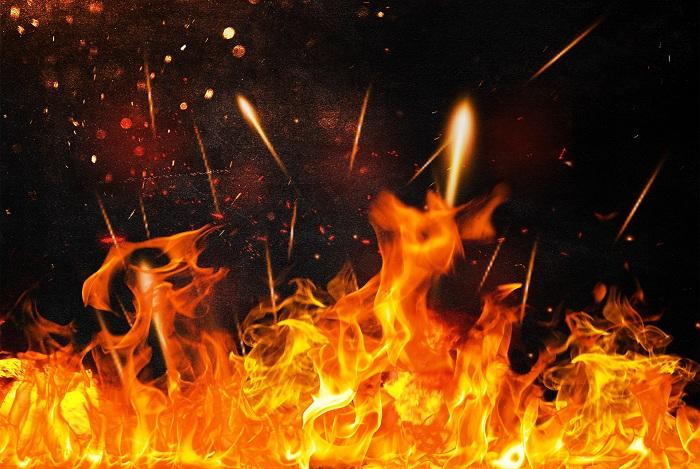 电缆竖井易出现烟囱效应,发生火灾