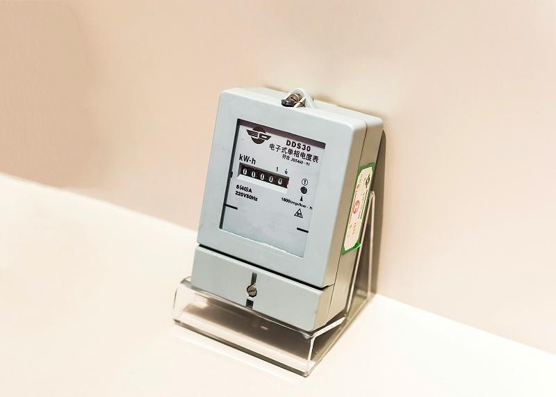 老式电度表