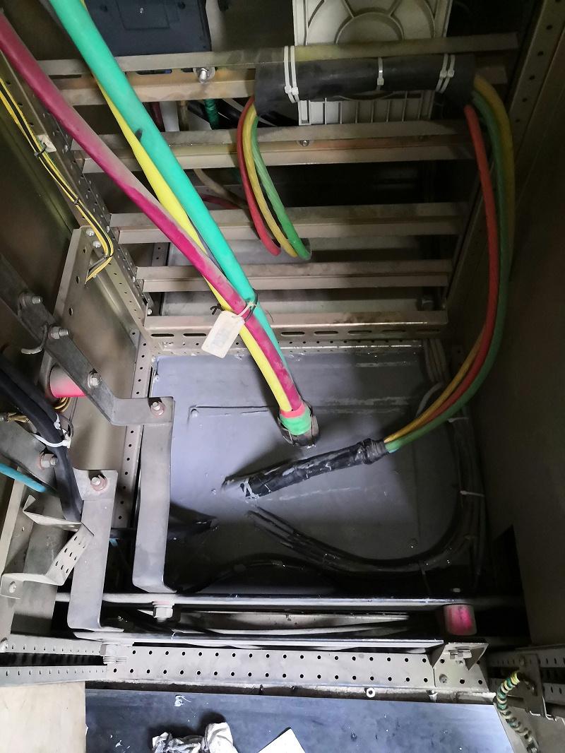 低压开关柜施工后