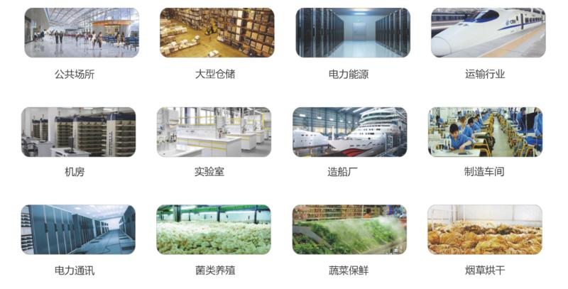 工业除湿机的应用场景多种多样