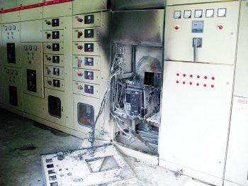 配电箱起火