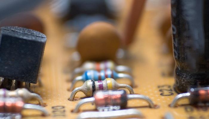 电阻细节图