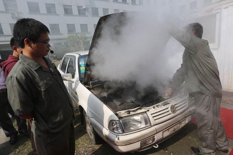 汽车热气溶胶自动灭火装置