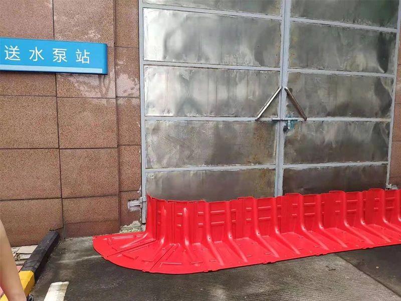 防汛挡板用在送水泵站入口