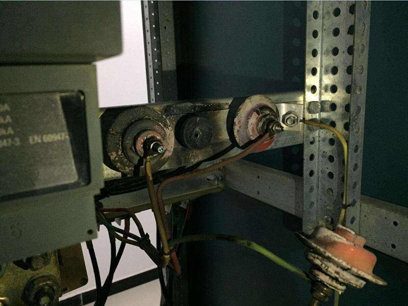 配电房老化腐蚀
