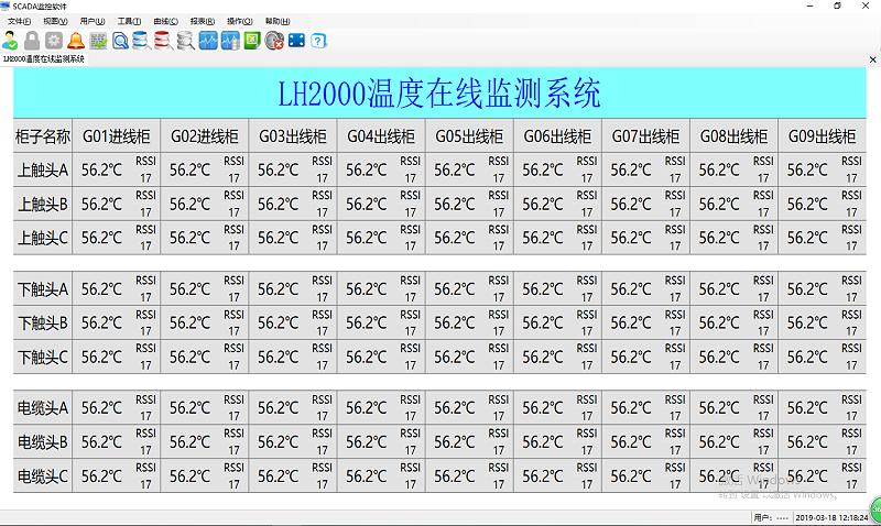 温度采集与显示
