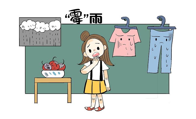 霉雨季节,衣服永远都是晒不干的状态