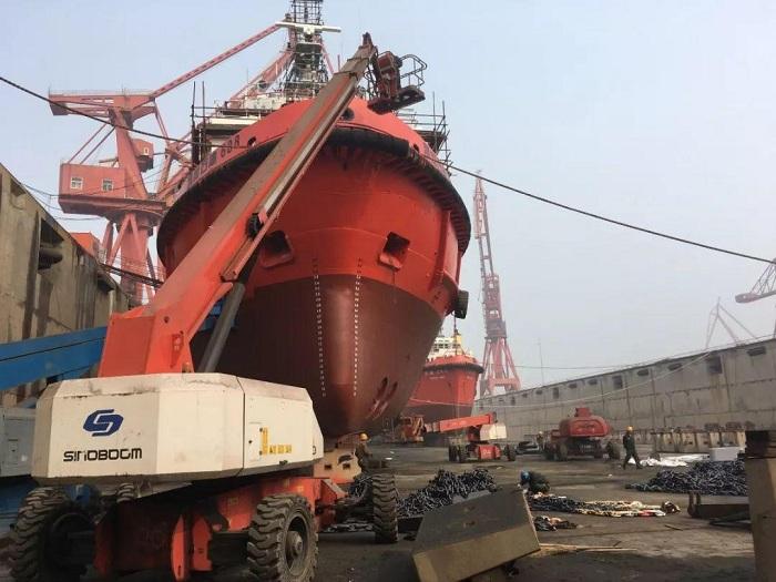 当前我国对轮船除锈采取的措施是喷砂除锈