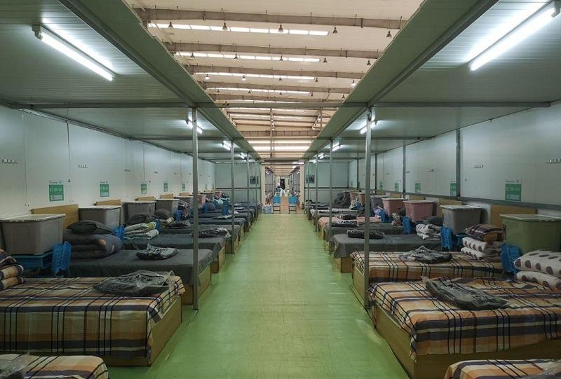 疫情期间武汉最大的一所方舱医院
