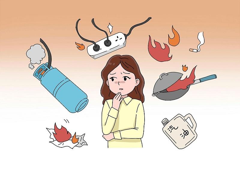家庭火灾隐患