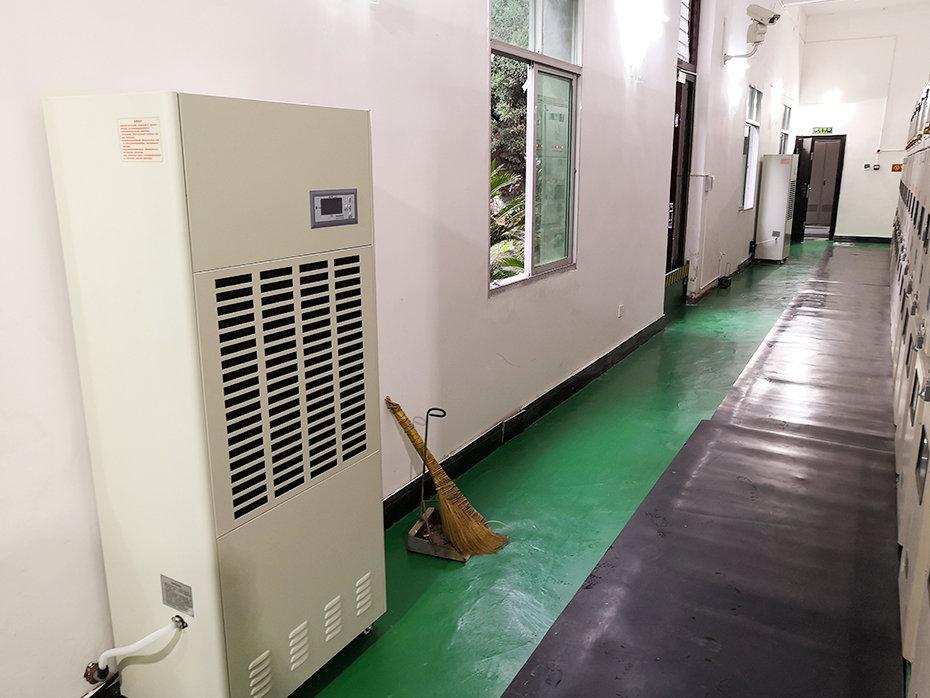国家电网某供电局35kV变电站安装领航除湿机