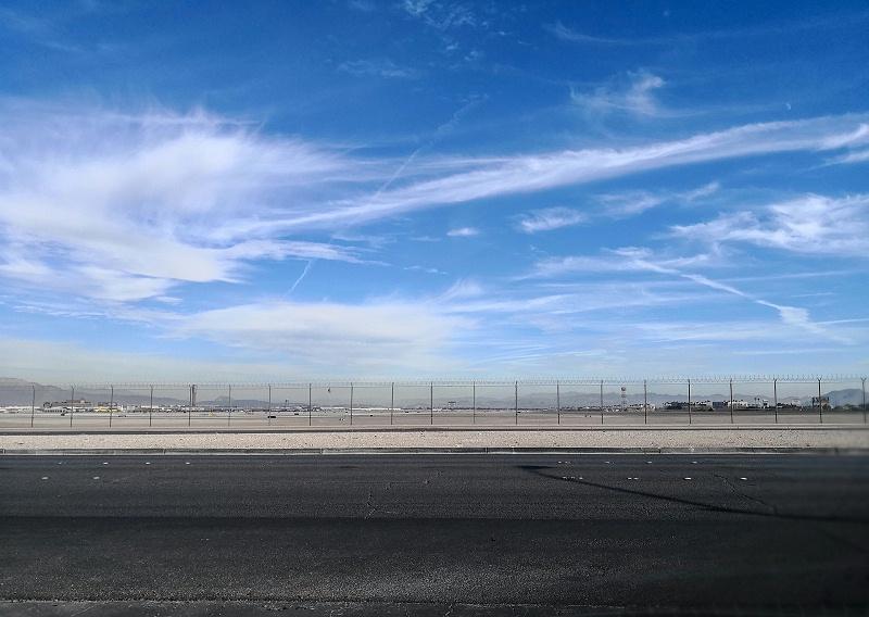 广阔的军用机场