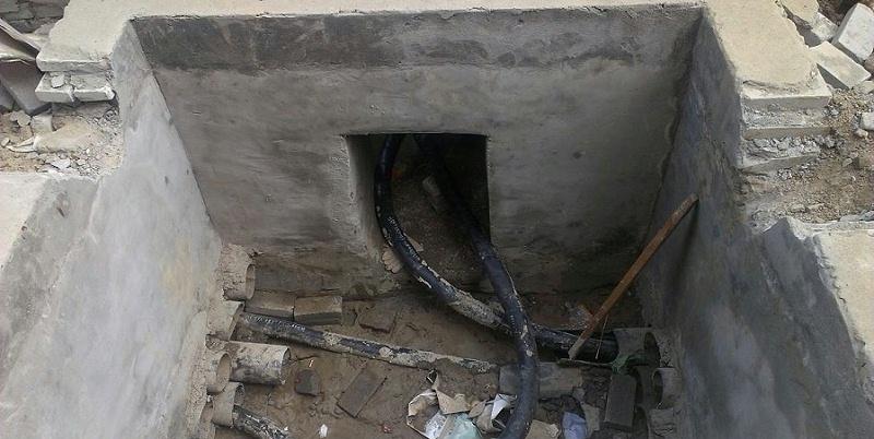 地下电缆井容易受到潮气入侵及线路杂乱的问题
