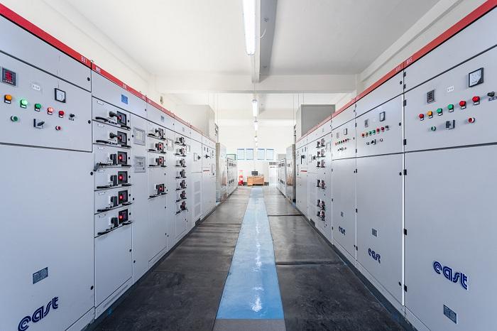 工厂配电室一览