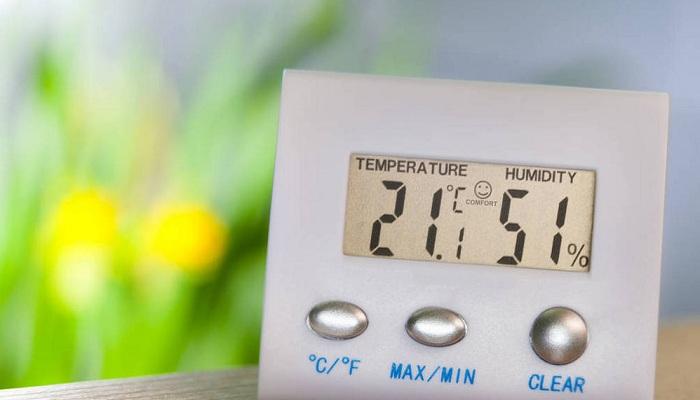 电子温度计和湿度计