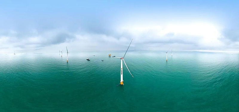 海上风电机组一体化测试平台